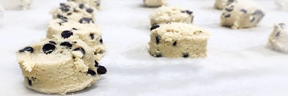 Fresh Beginning's cookie dough