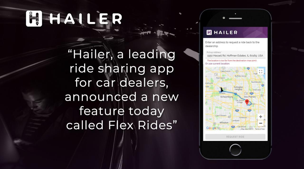 Introducing Flex Rides from Hailer